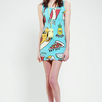 Lazy Oaf Hot Dawg Bodycon Dress