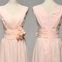 Custom make Vintage A LINE Wedding Dress Bridesmaid by wonderxue