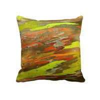 Painted Tree Pillow from Zazzle.com