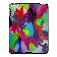 Colorful Abstraction iPad Case from Zazzle.com