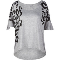 FULL TILT Animal Hi Lo Womens Top 193090130 | tops | Tillys.com