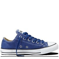 Converse - Chuck Taylor Stonewashed Canvas - Lo - Deep Ultramarine
