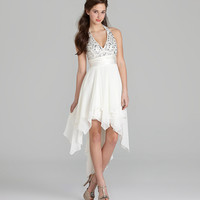 B. Darlin Halter Hi-Low Dress | Dillards.com