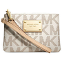 MICHAEL Michael Kors Handbag, Jet Set Small Signature Wristlet - Handbags & Accessories - Macy's