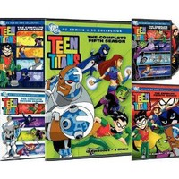 Teen Titans: The Complete Seasons 1-5: Movies & TV
