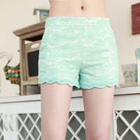 SakuraShop  Lace Shorts