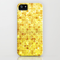 Disco Gold - Glitter iPhone & iPod Case by Belle13