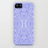 Radiate (Periwinkle) iPhone & iPod Case by Jacqueline Maldonado