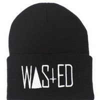 Rum &amp; Koke WASTED Beanie for Men : Karmaloop.com - Global Concrete Culture