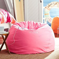 Color Wash Neon Pink Beanbag