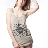 Wanderer Viscose Tank Top - Jawbreaking