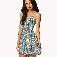 Tribal-Inspired Sweetheart Dress | FOREVER 21 - 2038016016