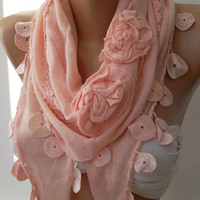 Georgeus Scarf   Elegance Scarf   Feminine Scarf / Shawl