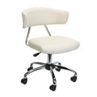Brenton Studio Task Chair,Off-White