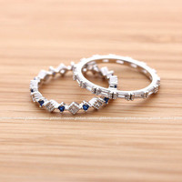 girlsluv.it - CRYSTALS and SAPPHIRES band set