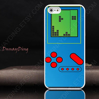iPhone 4 case iPhone 4s case   Classic Gameboy iPhone Case Tetris game  case