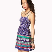 Boho Print Georgette Dress | FOREVER 21 - 2042791386