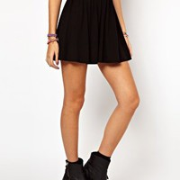 ASOS Skirt In Skater Style at asos.com