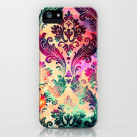 Emerald Galaxy Tapestry iPhone &amp; iPod Case by TheLeb