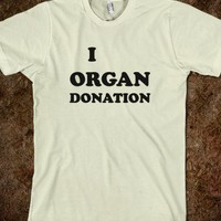 $29.99 I Organ Donation T-shirt (4 colors available) | Skreened - Ethical Custom Apparel