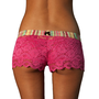 FOXERS -  Fuchsia Lace Boxers