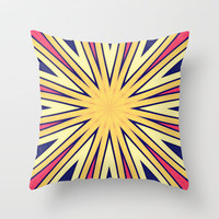 Spires Throw Pillow by Abstracts by Josrick