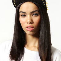 Amelie Metal Plate Spike Snapback