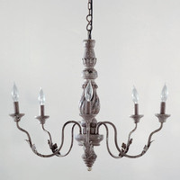 Gray Vintage Chandelier