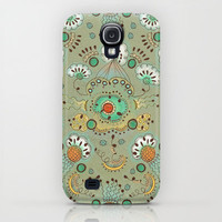 Flower in the Sky Pattern iPhone & iPod Case by Antepara