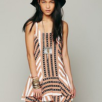 Free People St. Tropez Dropwaist Dress