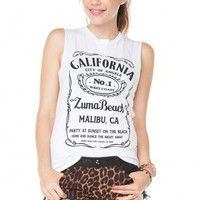 Brandy ♥ Melville |  Raisa Zuma Beach Tank - Just In