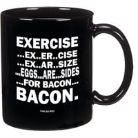Eggs Are Sides For Bacon Mug-- Perfect For Any Bacon Lover!!-- Funny High Quality Coffee Mug!!!