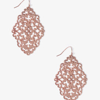 Cutout Filigree Earrings