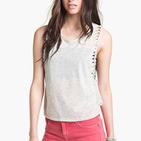 Painted Threads Whipstitch Tank (Juniors) | Nordstrom