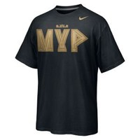 Nike Store. LeBron MVP Black Men&#x27;s T-Shirt