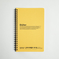 Düller Ring Notebook