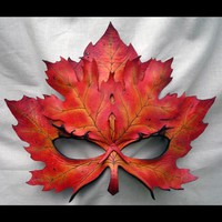Autumn Maple Layer Mask by wingandtalon on Etsy