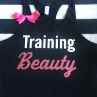 Training Beauty Work-out Racerback Tank Top