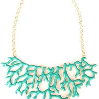 Branch Coral Necklace - Sky Blue -  $26.00 | Daily Chic Accessories | International Shipping