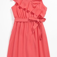BLUSH by Us Angels Chiffon Dress (Big Girls) | Nordstrom