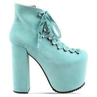 UNIF Hellbound in Turquoise at Solestruck.com