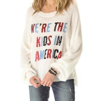 Wildfox American Kids Sweater | SHOPBOP