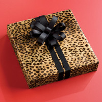 The Container Store > Leopard Print Gift Wrap