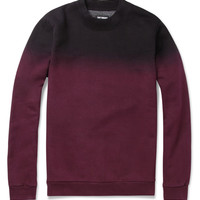 Raf Simons Ombre Cotton-Blend Sweater | MR PORTER