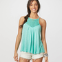 AE Chevron Rope Cami | American Eagle Outfitters