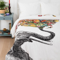 RococcoLA Happy Elephant Duvet Cover