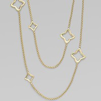 David Yurman - 18K Yellow Gold Link Necklace - Saks.com