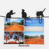 Cat Walk Photo Clip - Set Of 8