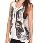 Cream Double Vision Tank Top | Hot Topic
