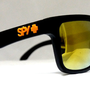 mysunglasses — New Spy Helm Sunglasses Spy+ Ken Block Livery Black Matte 24k Iridium sp2